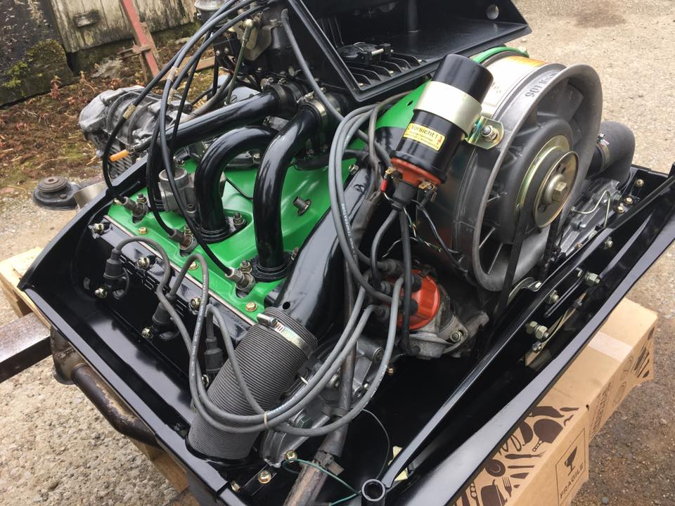 Engine ready for delivery